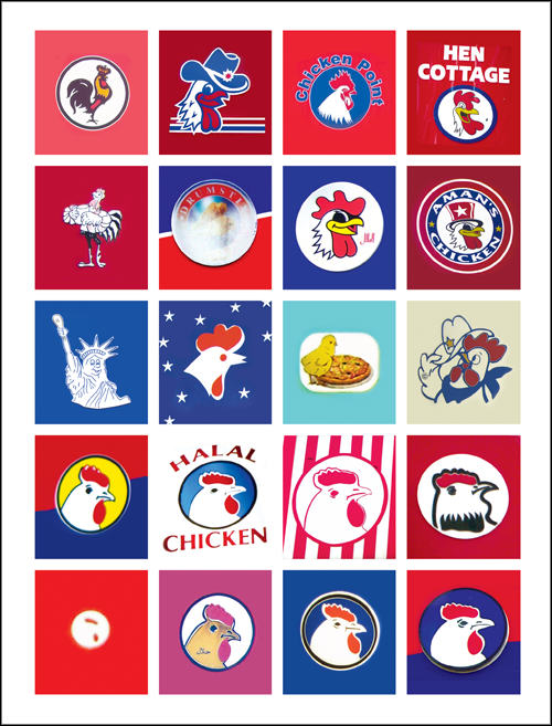 This Guy Has Designed 90% Of Londons Chicken Shop Logos chicken2