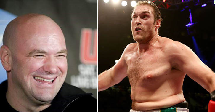Dana White Finds Idea Of Tyson Fury In The UFC Hilarious dvbnhgfv