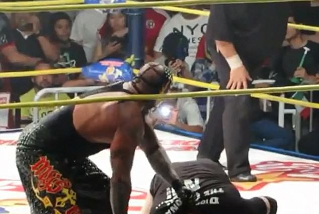 Fighter Dying In The Ring, No One Realises, Fight Goes On fight1 634x426