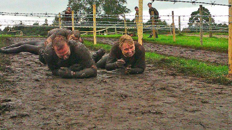 Paralysed Man Completes Gruelling Born Survivor Obstacle Course gash