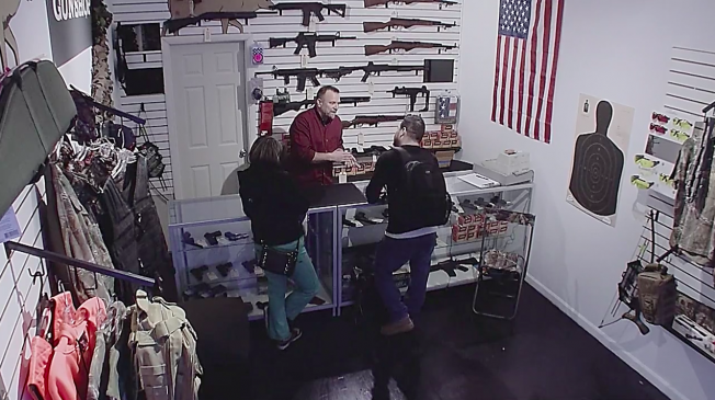 A Gun Store Was Opened In NYC For Powerful Gun Violence Advert gun store nyc hed 2015