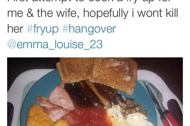 15 Best Hangover Cures As Judged By The Twitter Community hangover fryup 640x426