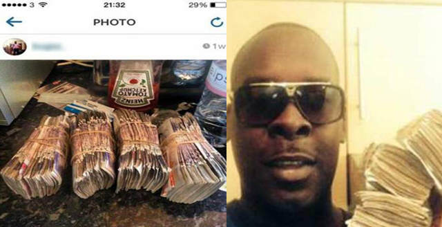 Moronic Drug Dealer Posts Pictures Of Money And Drugs On Instagram idiot