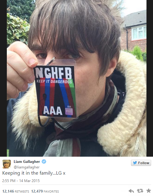 Oasis Brothers Finally End Their Feud As Liam And Noel Kiss And Make Up lg1