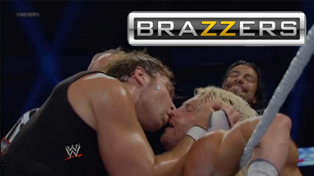 Brazzers Challenged Fans To Add Their Logo To WWE Stills To Make It Look Like Porn, And The Results Are Brilliant lkyjuh