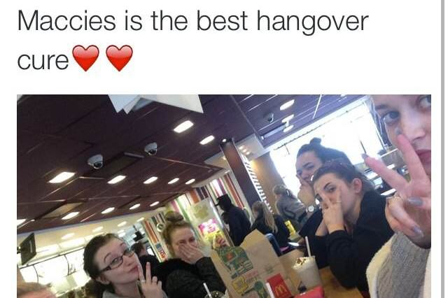 15 Best Hangover Cures As Judged By The Twitter Community maccies yes 640x426