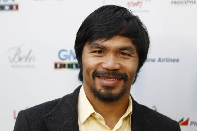 Manny Pacquiao Sees Mansion, Offers £8.4 Million Plus 4 Tickets To Mayweather Fight, Gets Mansion manny 3 640x426