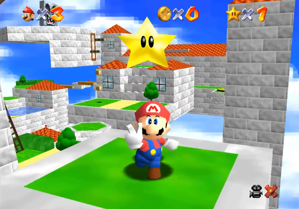 Fancy Playing Super Mario 64 On Your Browser? Of Course You Do mario1