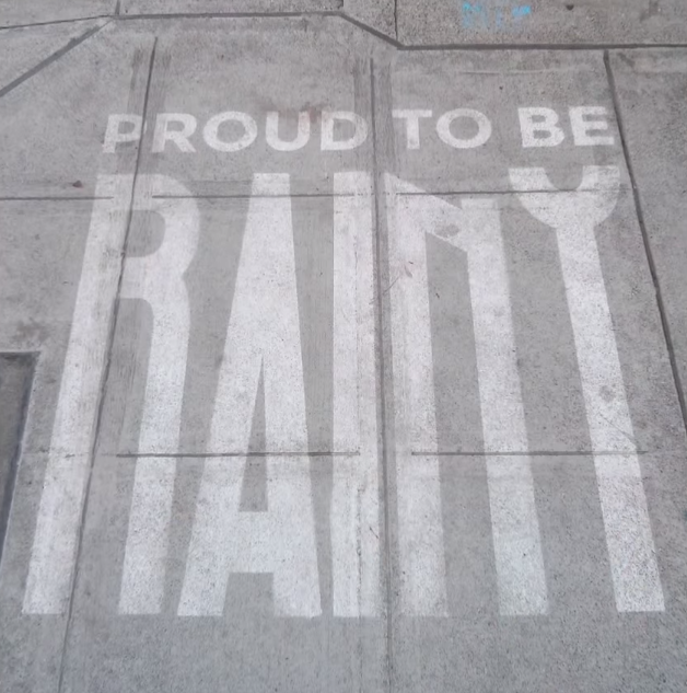 Check Out This Street Art That You Can Only See If Its Raining   Its Incredible mkjnhbv