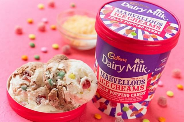 Cadbury Have Knocked Ben And Jerrys Right Off Their Perch popping candy ice cream cadbury 640x426