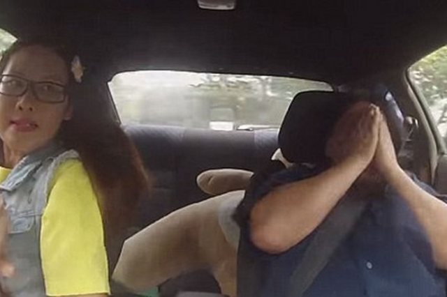 Rookie Driving Instructors Pranked By Professional Driver Who Pretends To Be A Terrible Learner prank 640x426