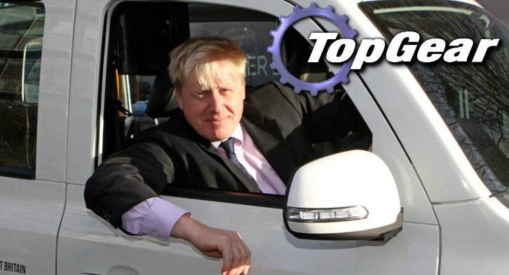 Boris Johnson Says He Wants To Replace Clarkson On Top Gear regtyju