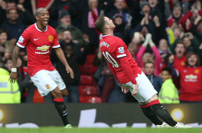 The Internet Reacts To Wayne Rooneys Knockout Celebration rooney2