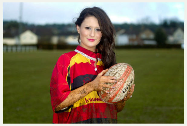 Rugby Lass Turned Beauty Queen Beats The Bullies In The Best Way rugby