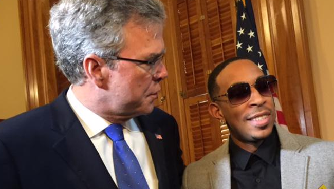 Ludacris Meets Brother Of George Bush, Disses His Family screen shot 2015 03 20 at 7 43 06 am
