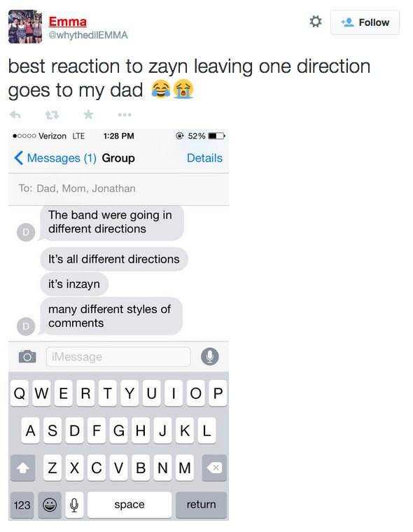 Dads React To Zayn Malik Leaving One Direction screen shot 2015 03 25 at 4 39 33 pm