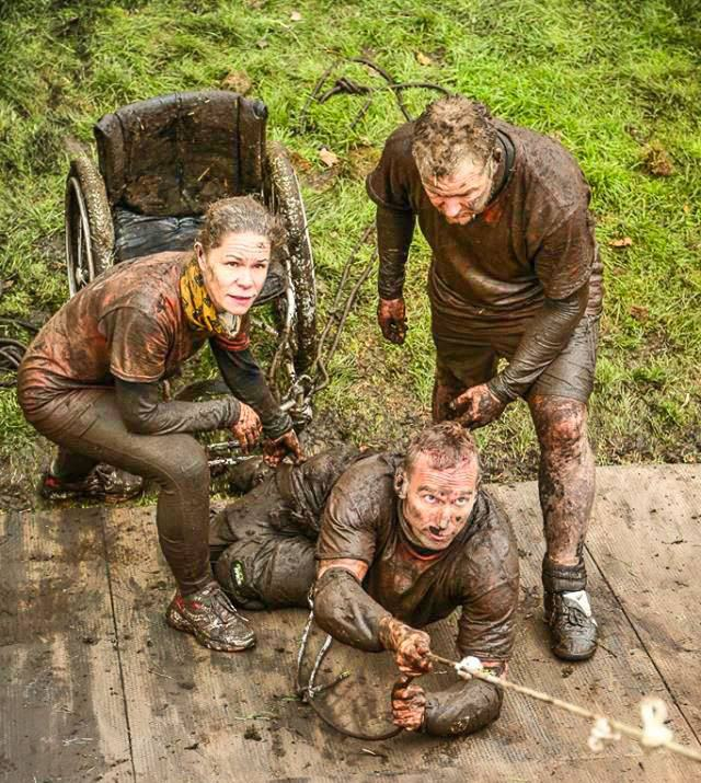 Paralysed Man Completes Gruelling Born Survivor Obstacle Course shaun