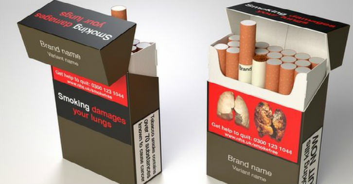 Plain Packaged Cigarettes Will Be On Shelves Next Year tghyhgbh