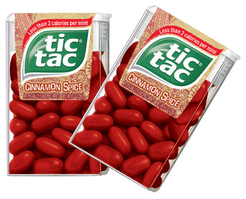 Those Snacks And Drinks Youll Never See Again tic tacs cinnamon spice 29g pack 20687 p