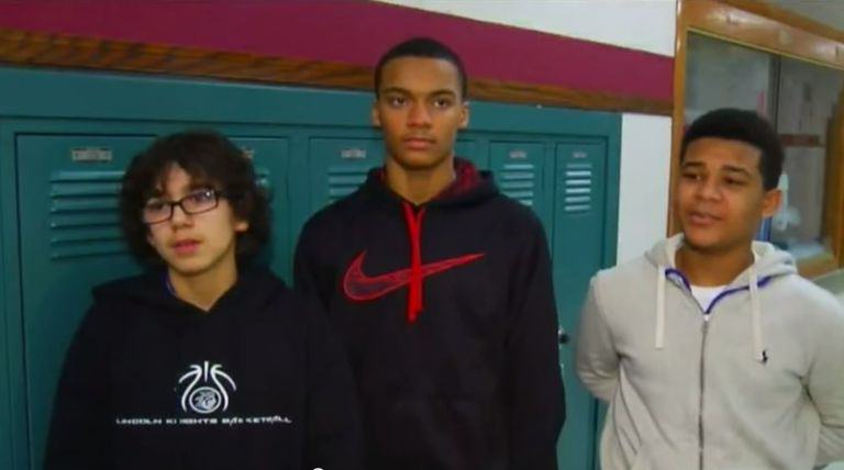 Basketball Players Stop Game, Confront Bully Abusing Cheerleader With Downs Syndrome youtube down 2