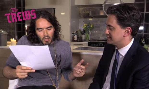 The Ed Miliband And Russell Brand Interview That Has Old Media Wound Up 1000