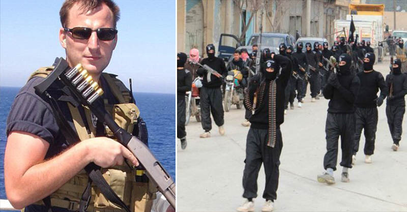 Father Of Two Flying To Iraq To Fight Rabid Dogs Of ISIS 110