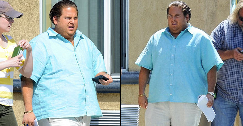 Jonah Hill Has Gained Some Serious Pounds For His New Movie 1131