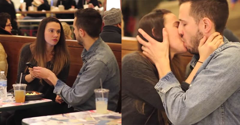 Girl Attempts To Kiss Random People After Asking For Directions 114