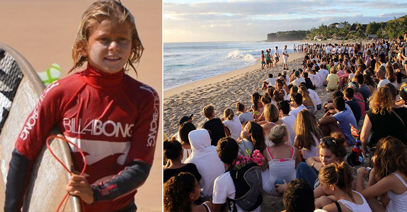 Hundreds Give Beachfront Tribute To Young Surfing Champ Killed By Shark 142