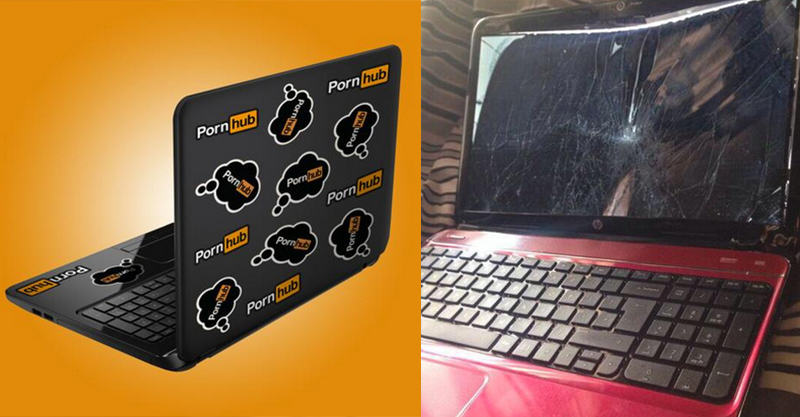 Pornhub Send Lad Who Broke His Laptop A New One 158