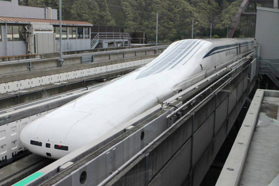 Japans New Levitating Train Broke The Speed Record This Week... Again 178