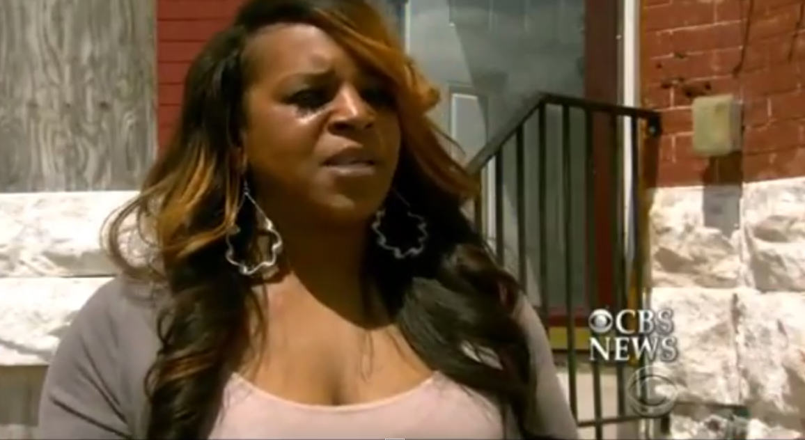 This Is The Baltimore Mum Who Beat Her Son For Trying To Protest 19289 w3f1gy