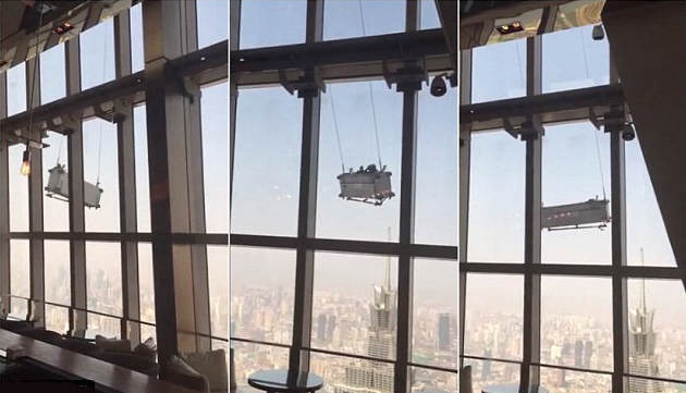Somewhere In NOPE City, These Windows Cleaners Have A Bad Day 273A38AB00000578 3023204 image a 12 1427986233382