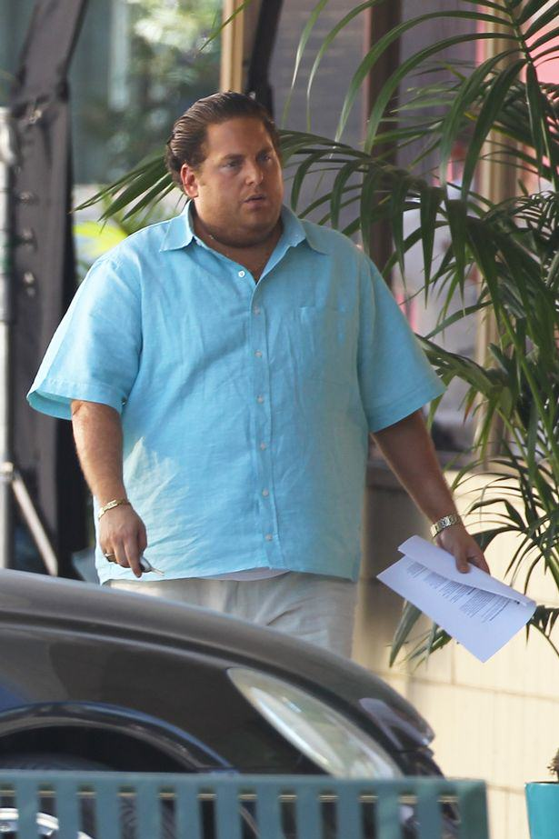 Jonah Hill Has Gained Some Serious Pounds For His New Movie Jonah Hill