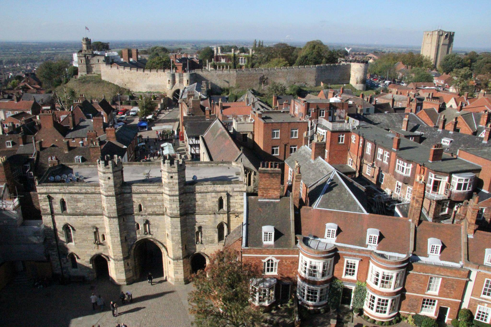 The UKs First Ban On Legal Highs Kicks In Today Lincoln Castle view