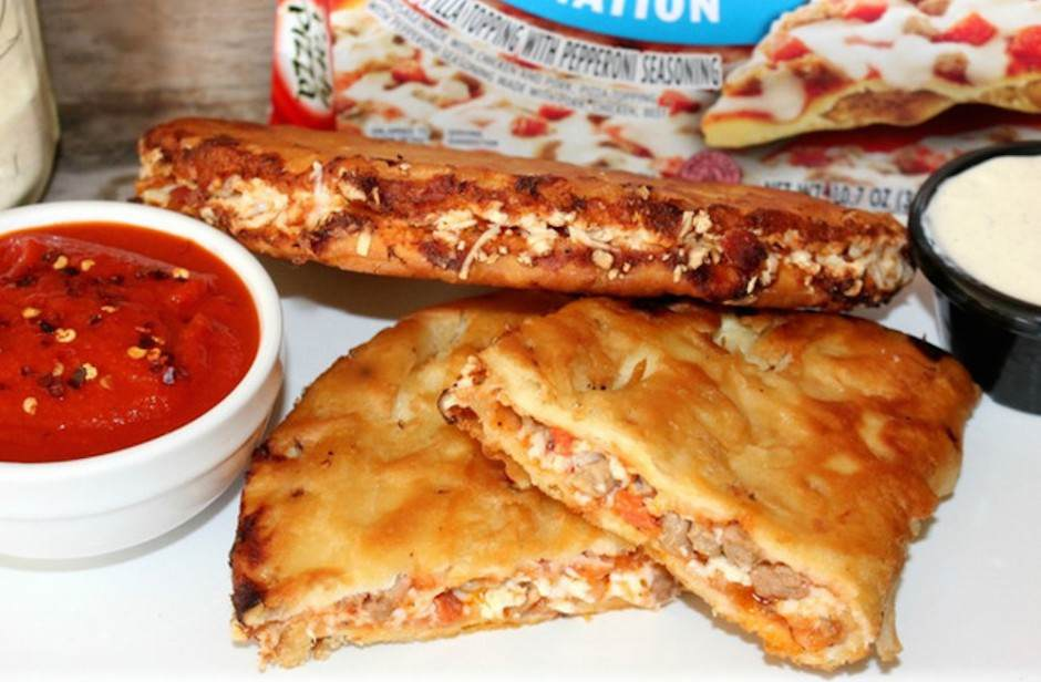 These Pizza Tacos Are Perfect For A Hangover Pizza Tacos 940x616