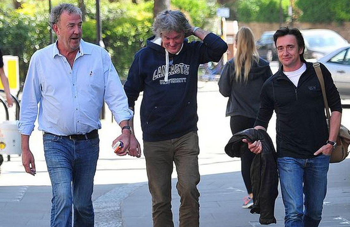 Jeremy Clarkson, James May And Richard Hammond Reunite For First Time Since Fracas Screen Shot 2015 04 23 at 18.13.54