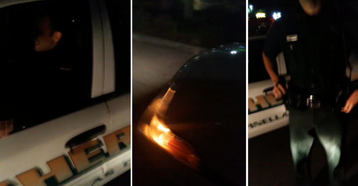 This Guy Pulls Over A Police Officer For Having A Broken Headlight, And Lets Him Off With A Warning TN1