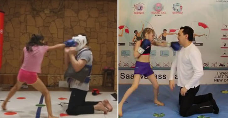 This 8 Year Old Girl Is A Better Boxer Than You, So Deal With It TN116