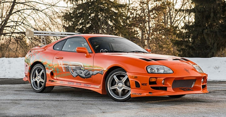 Paul Walkers Toyota Supra From Original Fast Film Up For Sale TN13