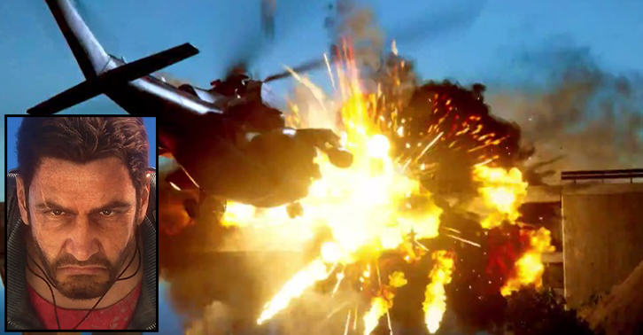 The New Reveal Trailer For Just Cause 3 Is Beautifully Chaotic TN130