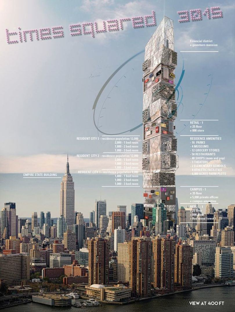 This City In One Giant Skyscraper Could Be Reality In The Future TS 810x1074