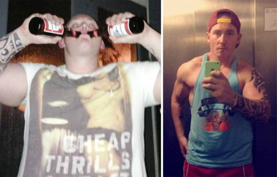 This Lad Lost 10st After Giving Up Binge Drinking Alcohol alcohol
