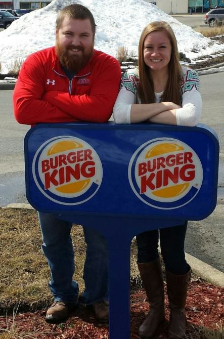 Burger King Offer To Pay For Wedding Of Mr Burger And Miss King bk1