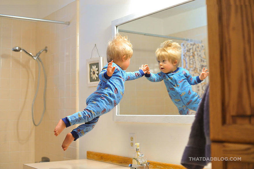 Photographer Dad Makes Son With Down Syndrome Fly In Awesome Photo Set blog