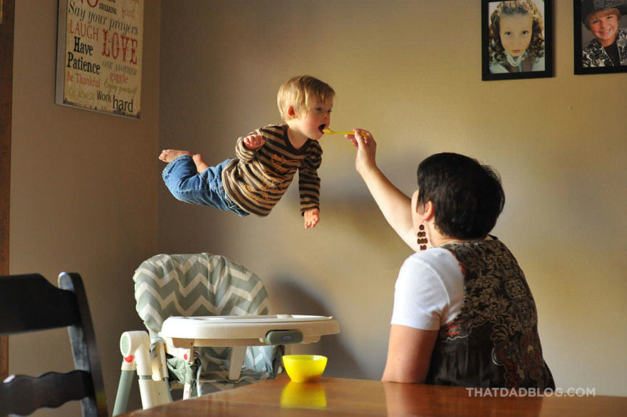 Photographer Dad Makes Son With Down Syndrome Fly In Awesome Photo Set blog1