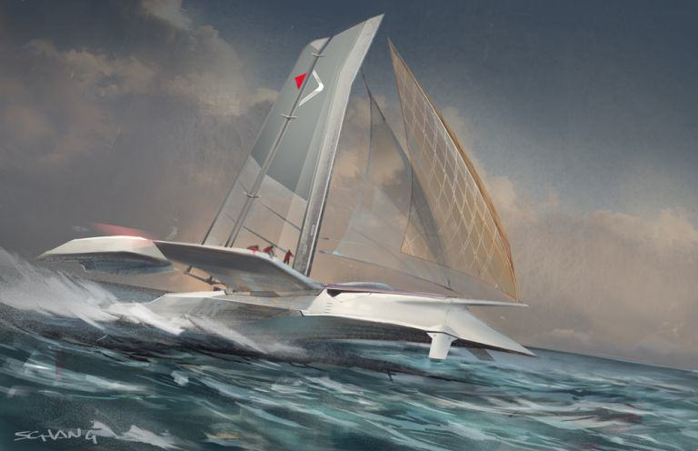 Star Wars Designer Shows Us How The Future Of Travel May Look boat 1