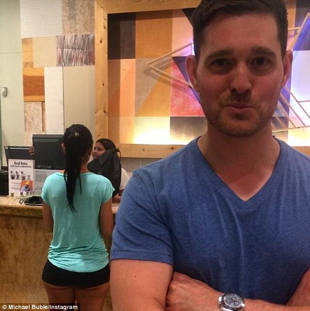 Michael Buble Finds Himself In Trouble After Instagramming Photo Of Womans Ass buble2