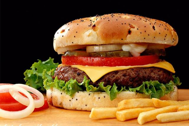 Shocking Study Claims Fast Food Works As Well As Health Supplements burger 640x426