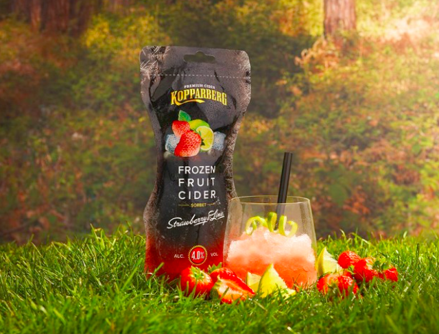 Kopparberg Make Frozen Fruit Cider An Actual Thing, Set To Hit Stores In May cider